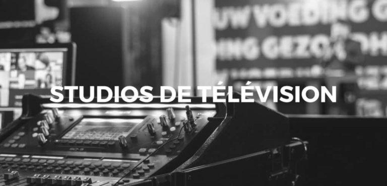 Studios de télévision